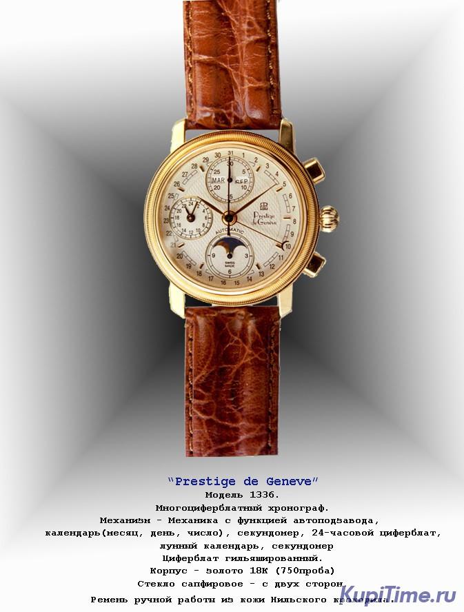 Наручные часы с лунным календарем