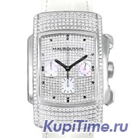 Mauboussin Fouga Chronograph Diamonds