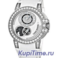 Harry Winston Ocean Lady Zalium Limited Edition / 400/UAMP36ZL.WDB/D3.1