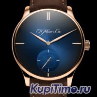 H.Moser & Cie. H. Moser & Cie Venturer Small Seconds XL Purity Midnight Blue fumé