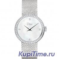 La D De Dior Diamond Ladies Watch