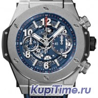 HUBLOT BIG BANG UNICO TITANIUM BLUE 45 mm