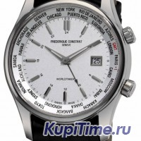 Frederique Constant Classics Index Worldtimer Quartz