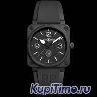 AVIATION BR01-92 10 TH ANNIVERSARY . BLACK CERAMIC