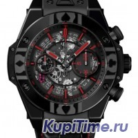 HUBLOT UNICO WORLD POKER TOUR ALL BLACK