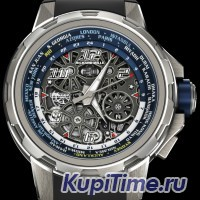 RICHARD MILLE WORLD TIMER AUTOMATIC WATCH RM 63-02