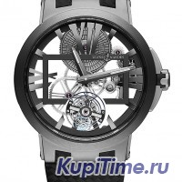 UN Executive Skeleton Tourbillon 1713-139