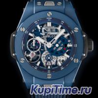 HUBLOT BIG BANG MECA-10 CERAMIC BLUE 45ММ 414.EX.5123.RX