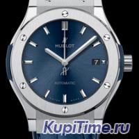 HUBLOT CLASSIC FUSION BLUE TITANIUM  511.NX.7170.LR