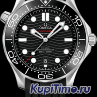 OMEGA SEAMASTER DIVER 300M CO‑AXIAL MASTER CHRONOMETER 42 MM 210.32.42.20.01.001