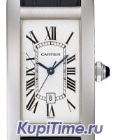 Cartier Tank Americaine Midsize White Gold