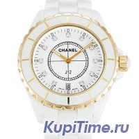 Chanel J12 Quartz 38 mm Ceramic and Rose Gold