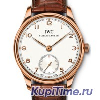 IWC Portuguese Hand Wound Rose Gold Boutique Edition